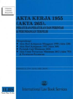 AKTA KERJA 1955 (AKTA 265)