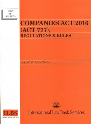 COMPANIES ACT 2016 (ACT 777)