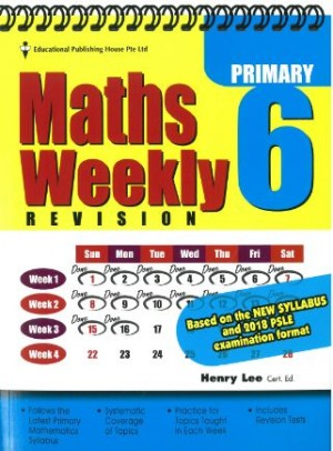 Primary 6 Maths Weekly Revision (New Syllabus)