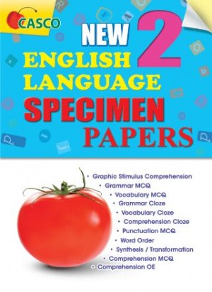 P2 New Format English Language Specimen Paper
