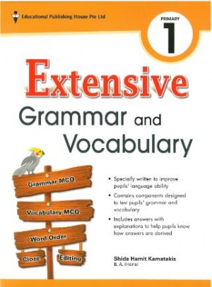 Primary 1 Extensive Grammar and Vocabulary