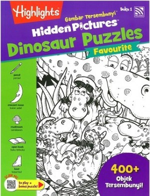 HIDDEN PICTURES DINOSAUR PUZZLES BOOK 1