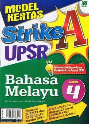 Tahun 4 Model Kertas Strike A Bahasa Melayu
