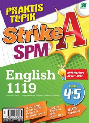 PRAKTIS TOPIK STRIKE A SPM ENGLISH