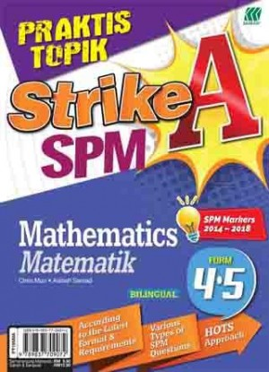 PRAKTIS TOPIK STRIKE A SPM MATHEMATICS(BILINGUAL)