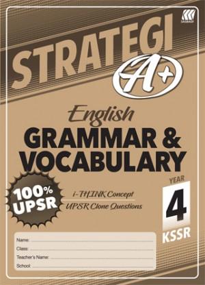 Tahun 4 Strategi A+ English Grammar & Vocabulary