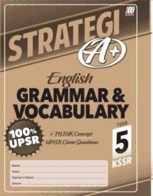 Tahun 5 Strategi A+ English Grammar & Vocabulary
