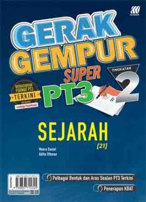 TINGKATAN 2 GERAK GEMPUR SUPER PT3 SEJARAH