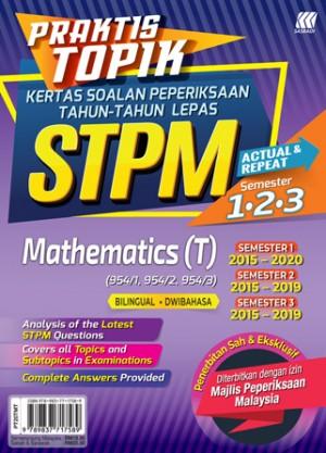 Praktis Topik KSPTL STPM Semester 1,2,3 Mathematics T