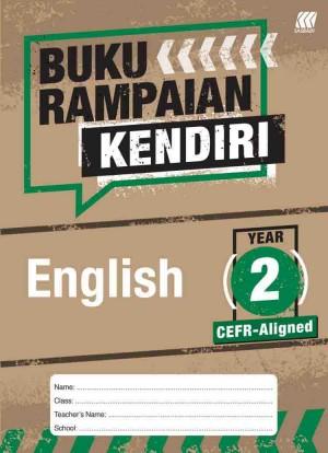 Tahun 2 Buku Rampaian Kendiri English
