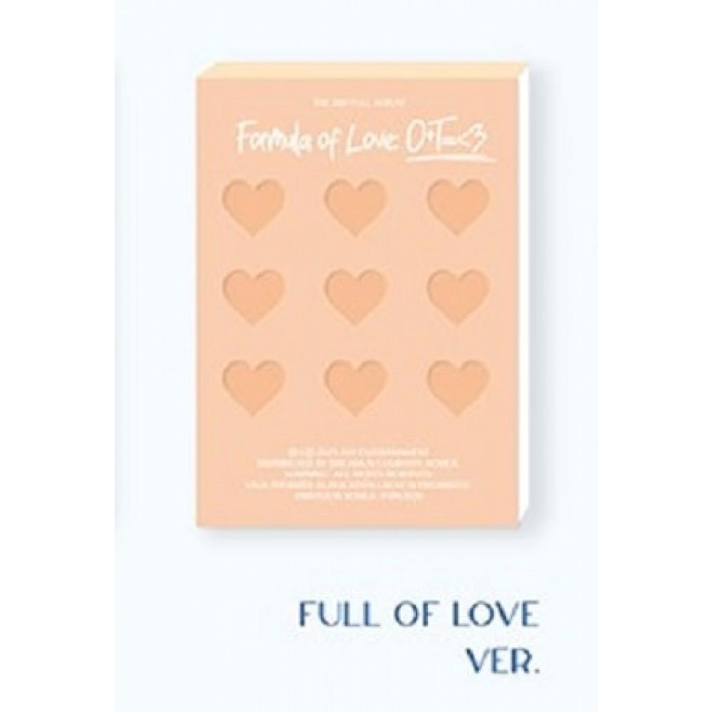 TWICE - 3RD ALBUM: FORMULA OF LOVE - O+T =