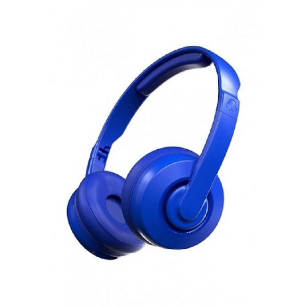 SKULLCANDY CASSETTE BLUETOOTH HEADPHONE BLUE