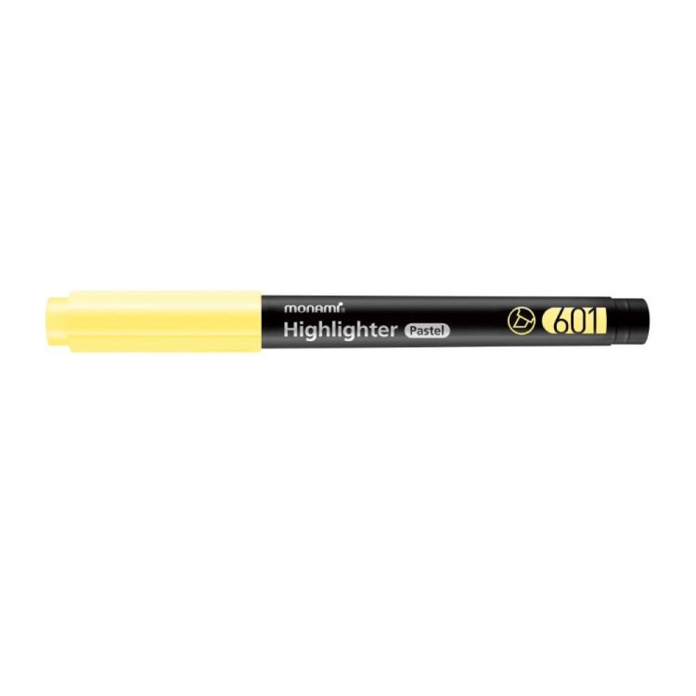 MONAMI 601 Highlighter Pastel Yellow