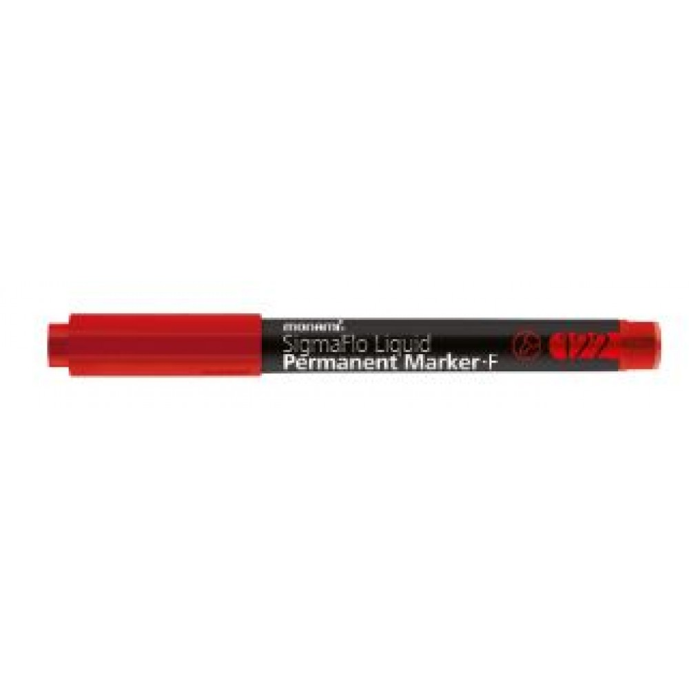 MONAMI Liquid  Permanent Marker 122 Fine Red