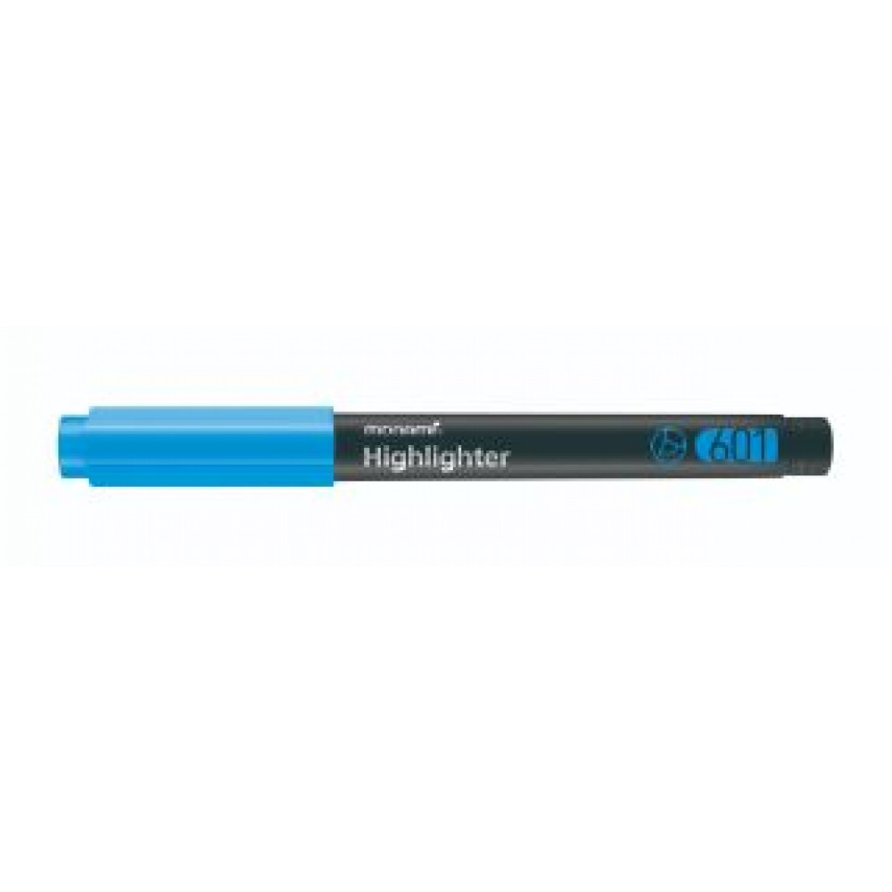MONAMI 601 Highlighter Blue