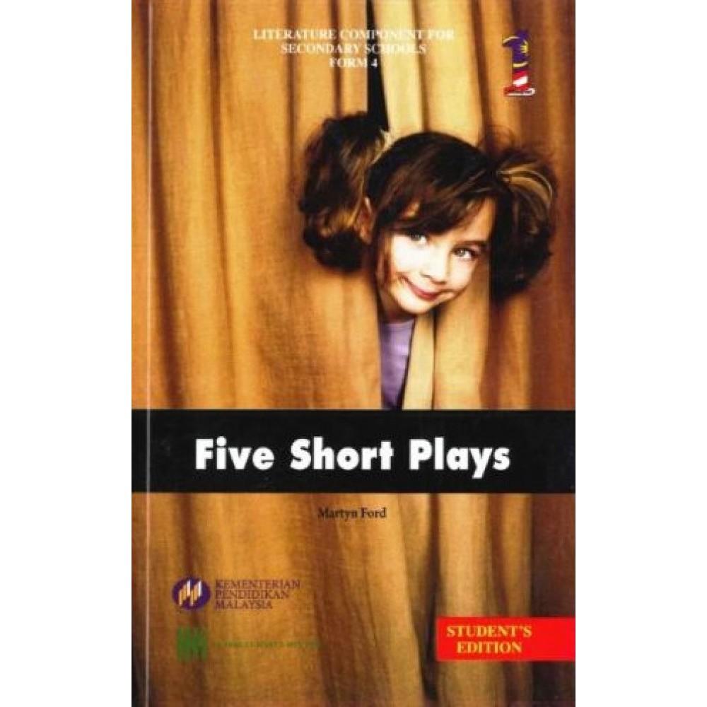 TINGKATAN 4 TEKS BOOK FIVE SHORT PLAYS