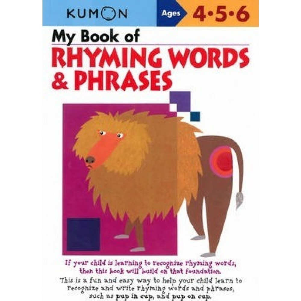 P-MY BOOK OF RHYMING WORDS & PHRASES