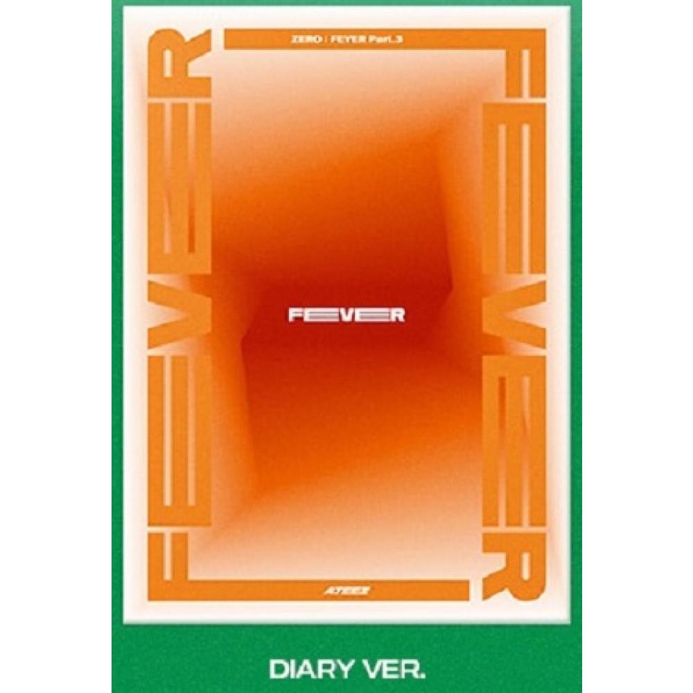 ATEEZ - 6TH MINI ALBUM : ZERO - FEVER PART.3 (Diary Ver.)
