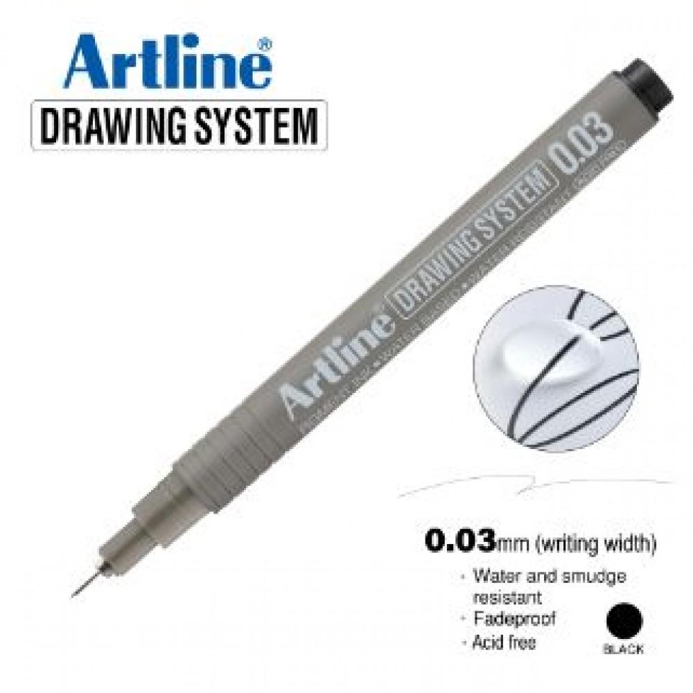 ARTLINE EK2303 DRAWING SYSTEM 0.03MM BLACK