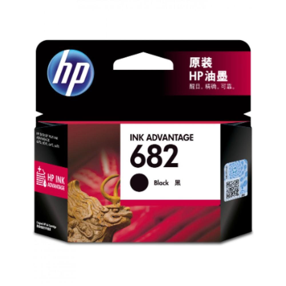 HP 682 BLK INK CART 3YM77AA