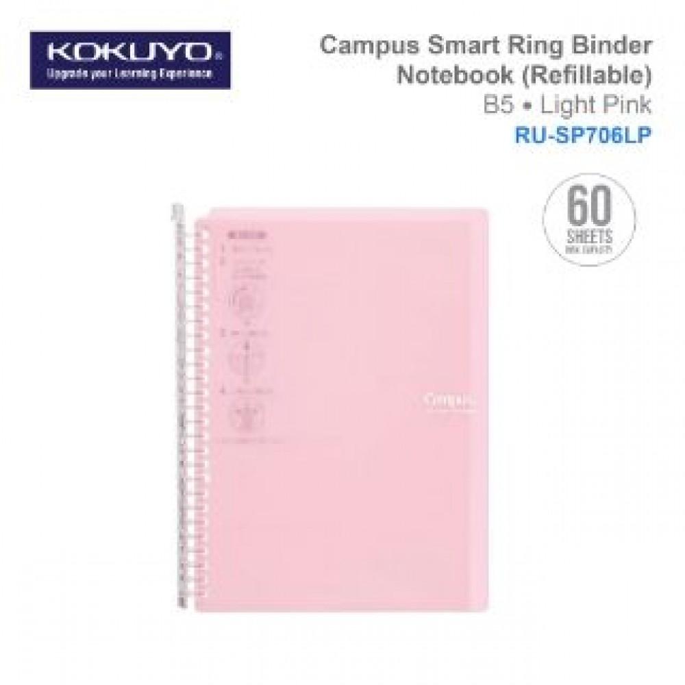 KOKUYO CAMPUS SMART RING BINDER NOTEBOOK B5 (REFILLABLE) RU-SP706LP