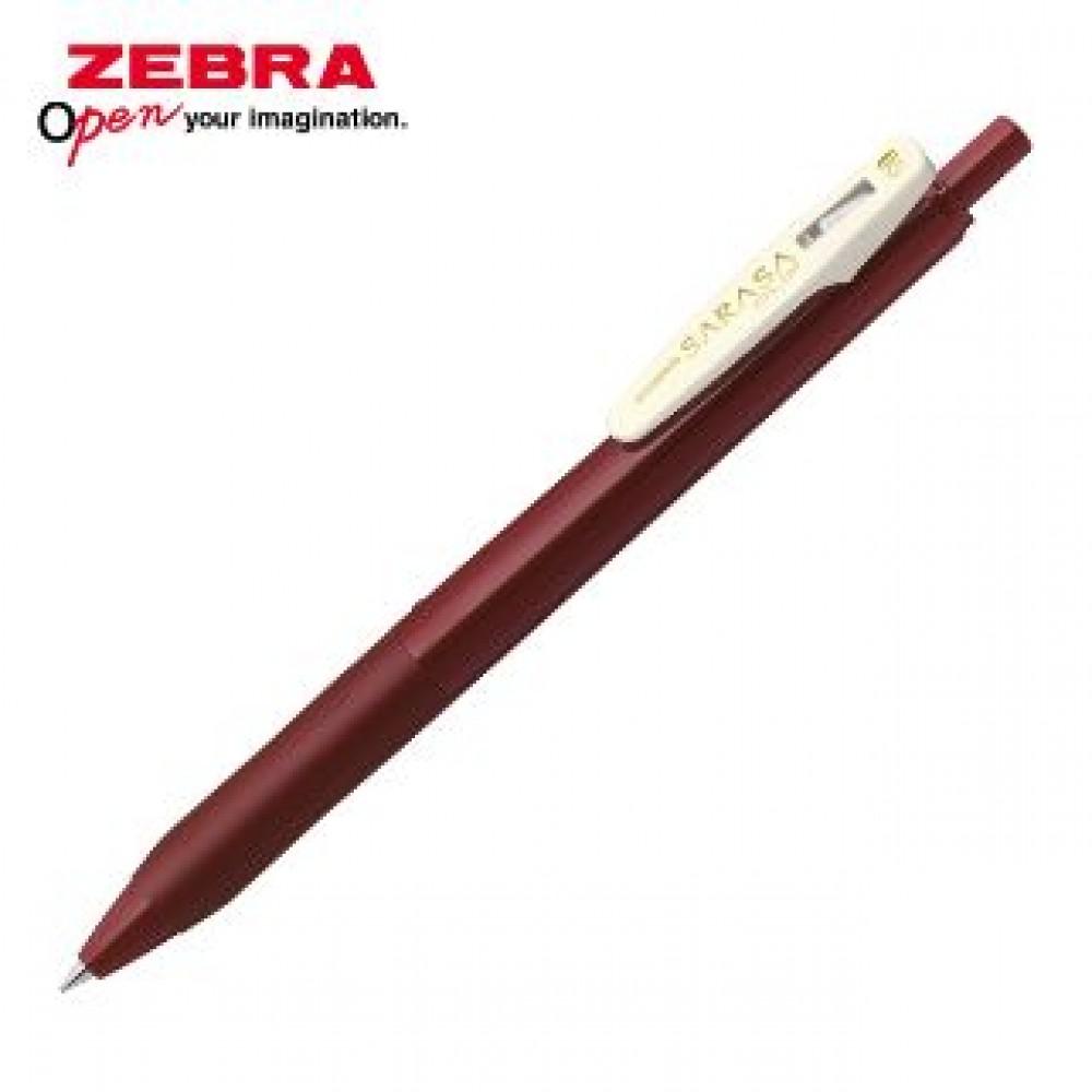 ZEBRA SARASA CLIP VINTAGE JJ15 GEL PEN 0.5MM RED BLACK