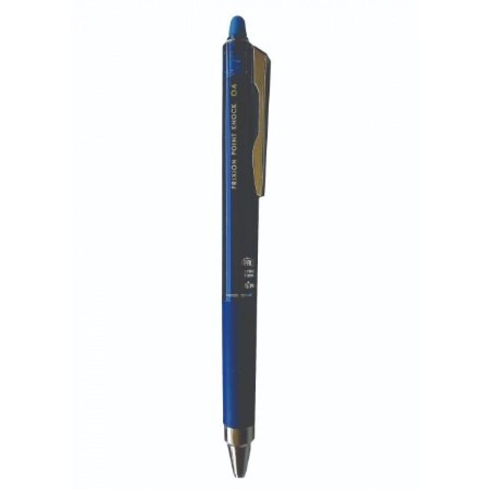 PILOT Frixion Point Knock 04 Erasable Gel Pen - Blue Black