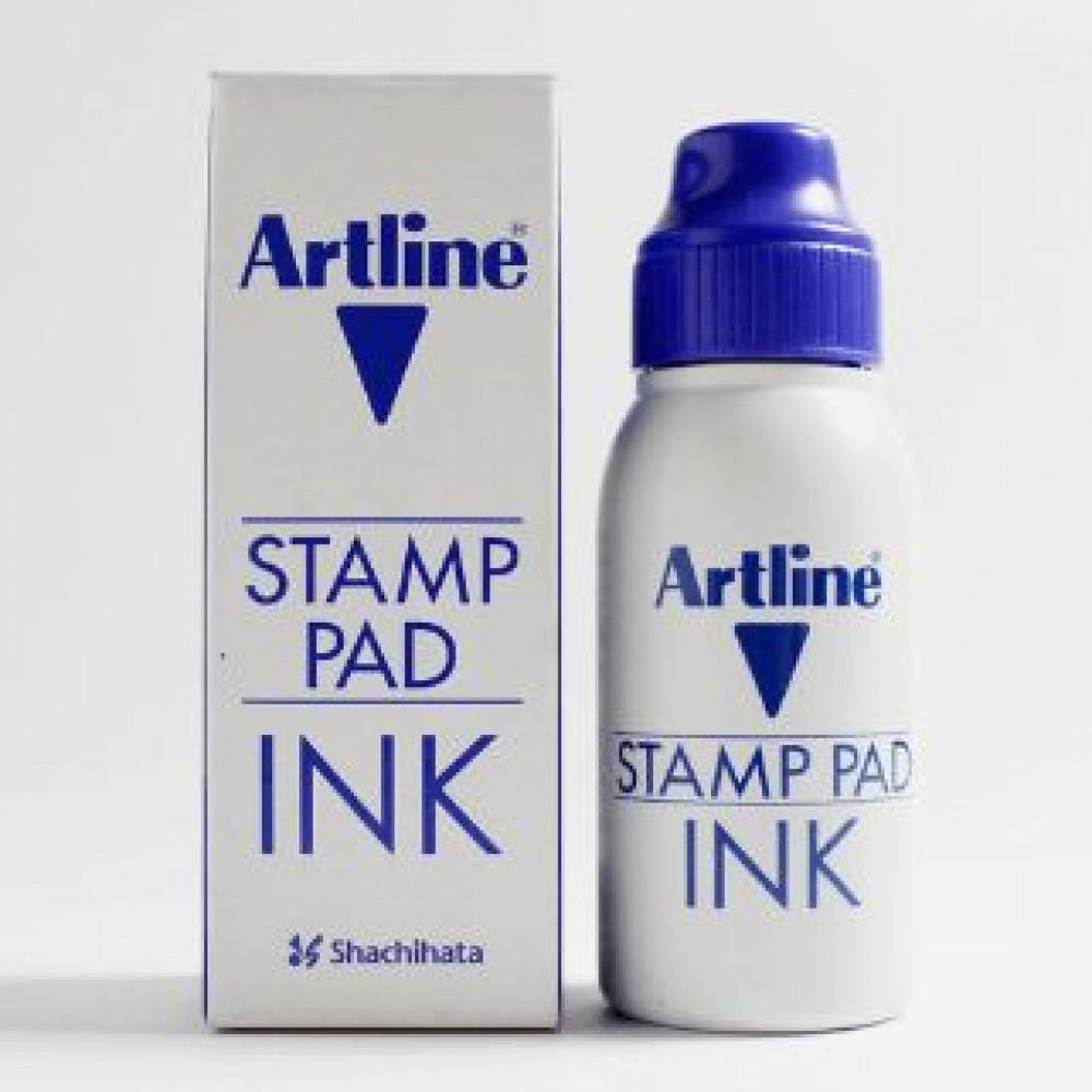 ARTLINE STAMP PAD INK 50ML ESA-2N BLUE