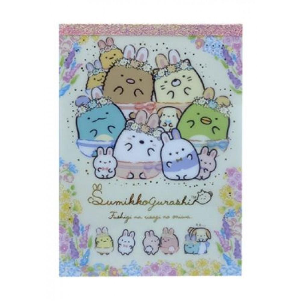 SUMIKKOGURASHI NOTE PAD 105*148MM 100's MH03101