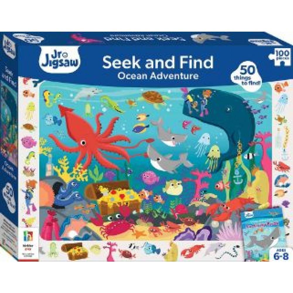 HINKLER PUZZLE SEEK AND FIND OCEAN 100S