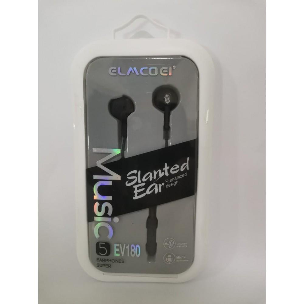 EV180 EARPHONE BLACK
