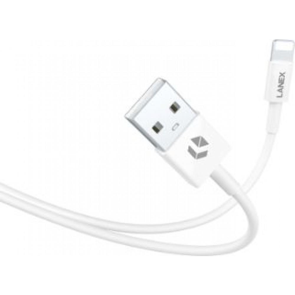 LANEX LTC-N03L LIGHTNING CABLE 1M WHITE