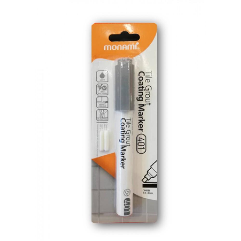 MONAMI 401 Tile Grout Coating Marker - Grey