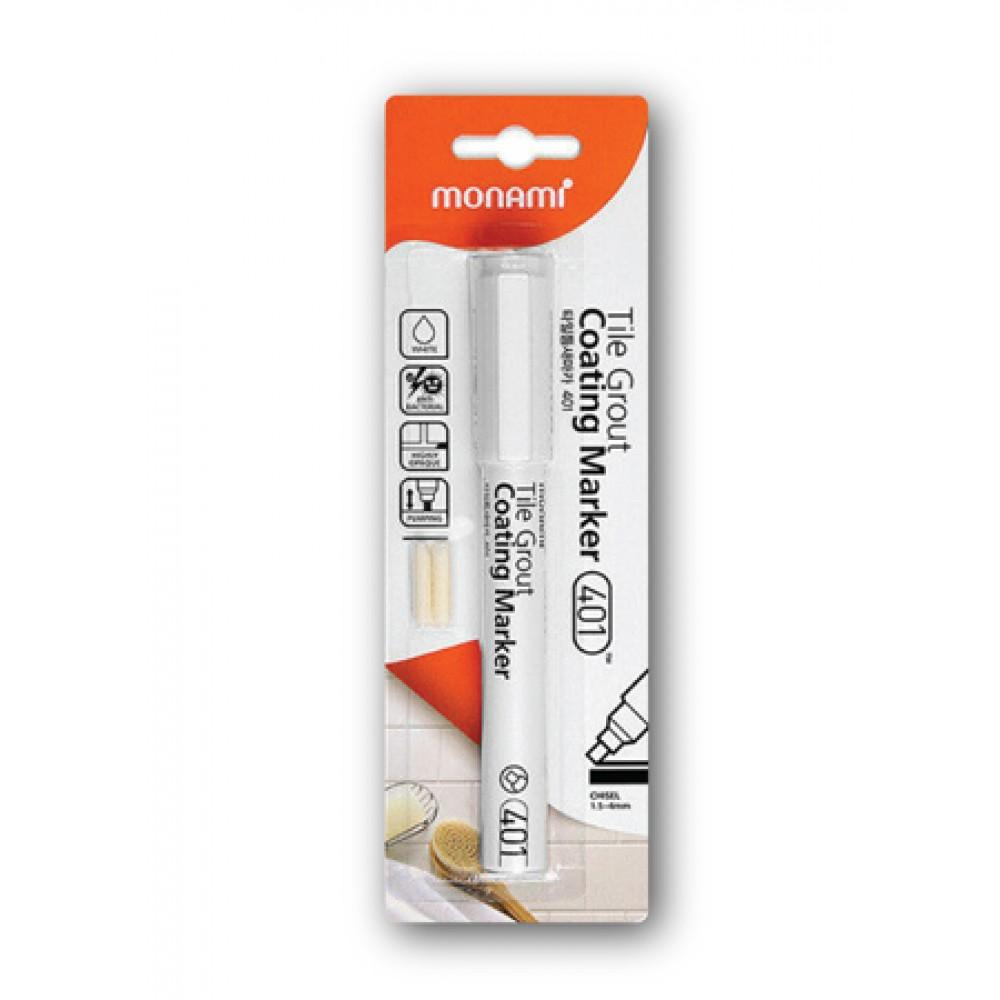 MONAMI 401 Tile Grout Coating Marker - White