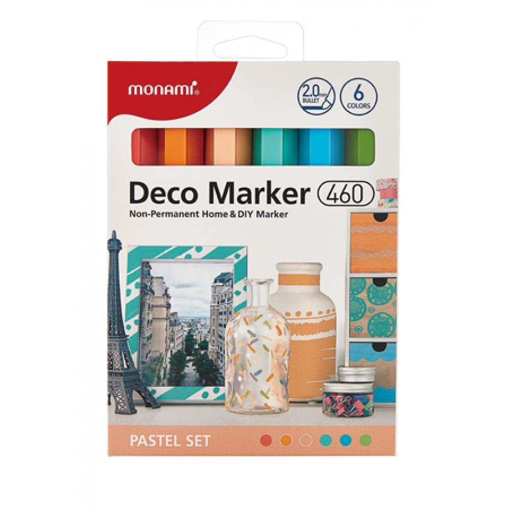 MONAMI 460 Deco Marker Set - Pastel