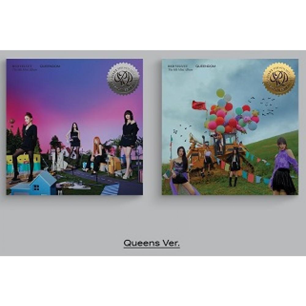 RED VELVET - 6TH MINI ALBUM : QUEENDOM (QUEENS VER.)