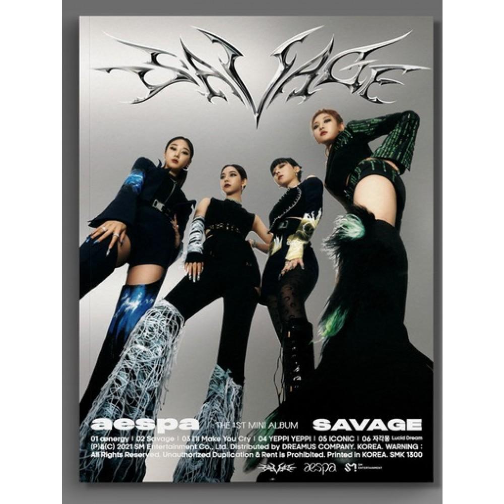 AESPA - 1ST MNI ALBUM : SAVAGE (HALLUCINATION QUEST VER.)