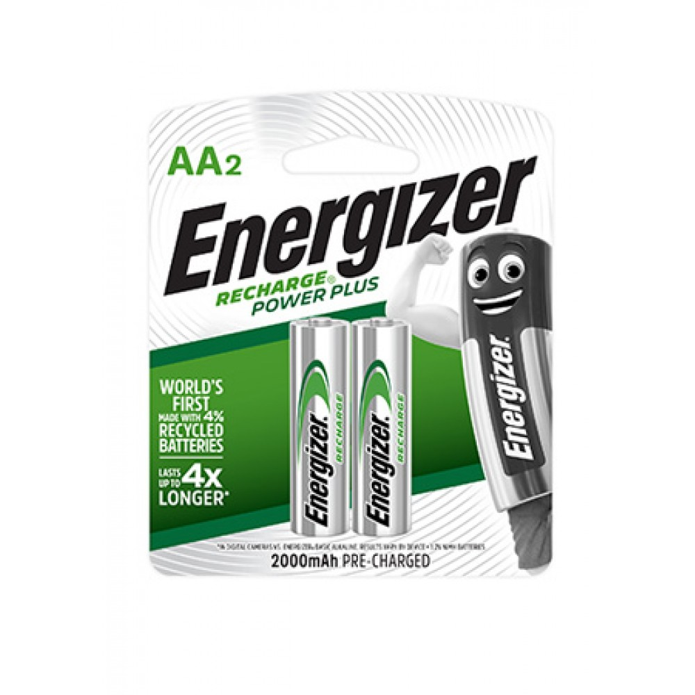 ENERGIZER RECHARGE POWER PLUS AA BATTERY 2'S