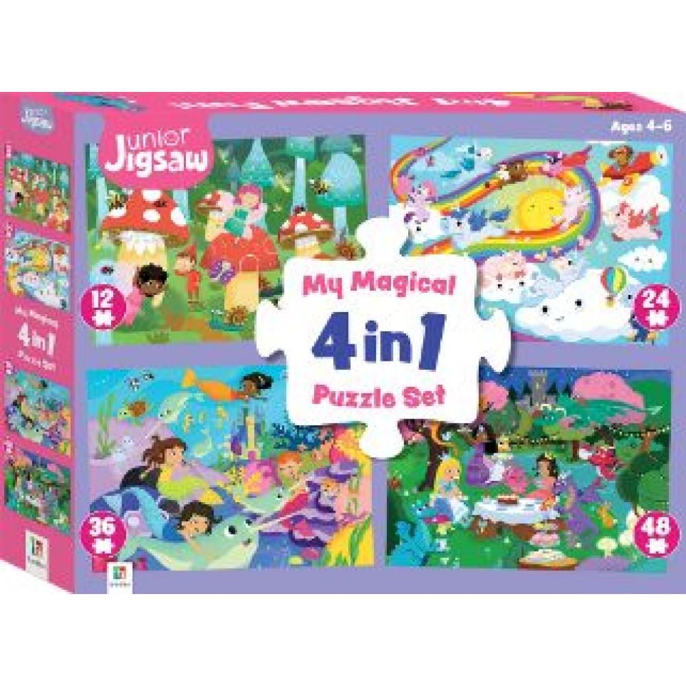 HINKLER JN JIGSAW MY MAGICAL 4-IN-1 SET