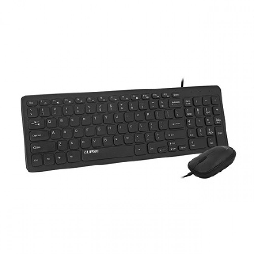 CLIPTEC RZK266 SILENT KEYBOARD & MOUSE COMBO