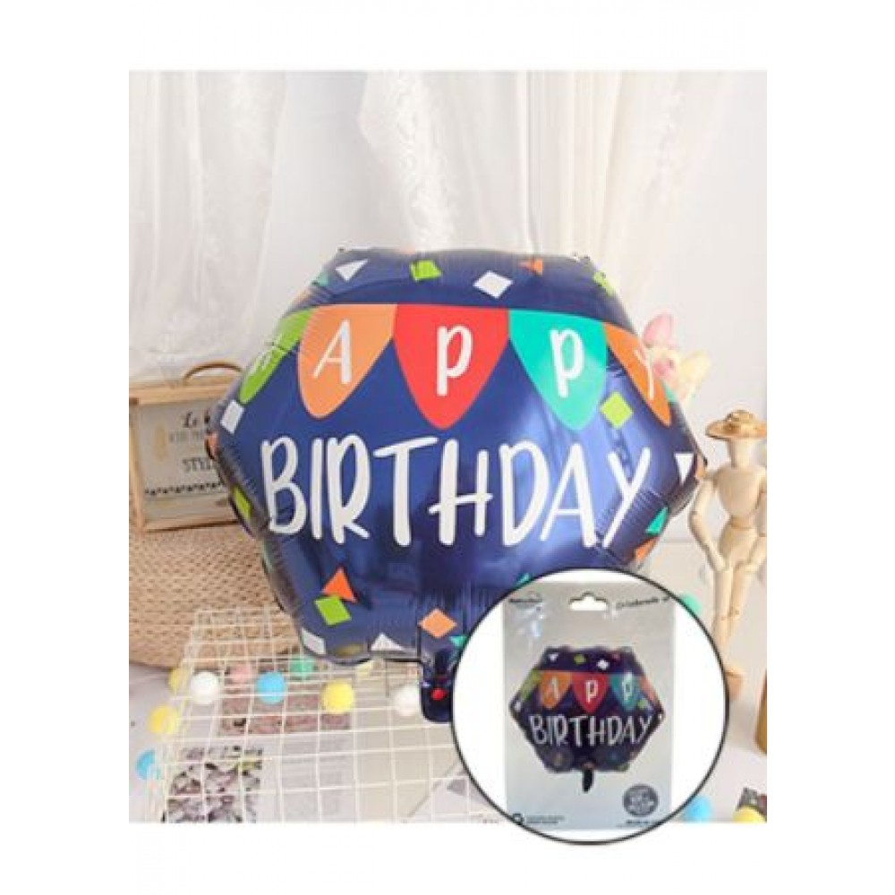 FOIL BALLOON- HAPPY BIRTHDAY
