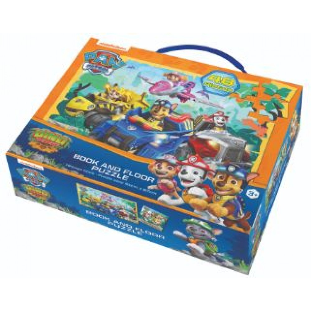 Paw Patrol Book And Floor Puzzle