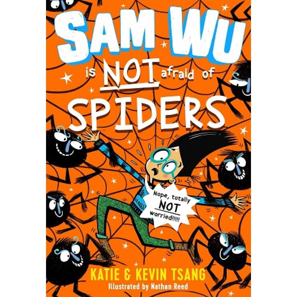 SAMWU04 IS NOT AFRAID OF SPIDERS