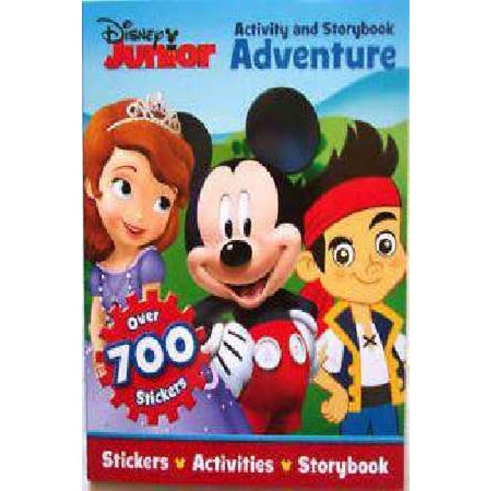 DISNEY JUNIOR ACTIVITY & STORYBOOK ADVENTURE