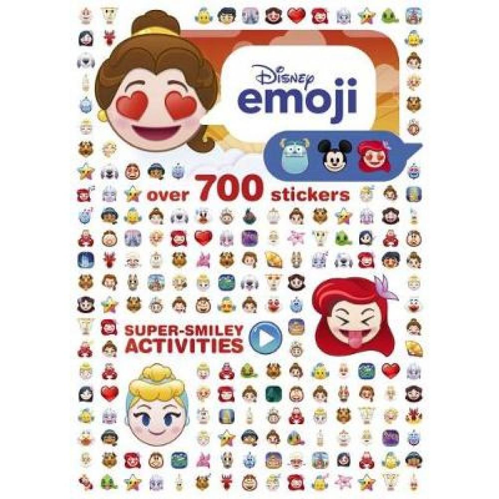 Disney Princess Emoji Super-Smiley Activities: Over 700 Stickers