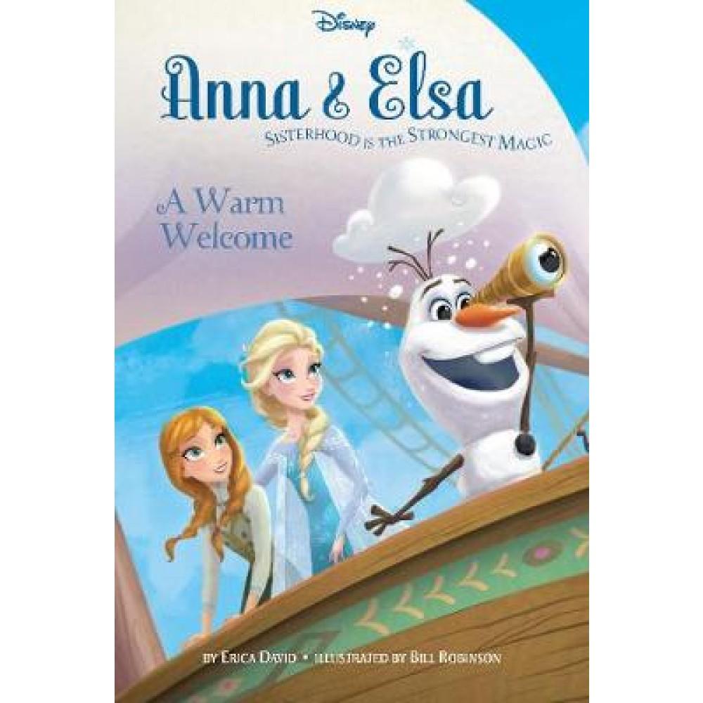 Disney Frozen Anna & Elsa A Warm Welcome: Sisterhood Is the Strongest Magic