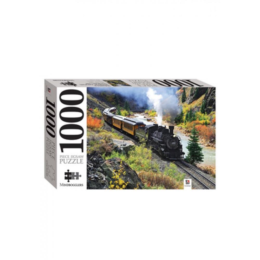 HINKLER JIGSAW RAILROAD1000 PIECE