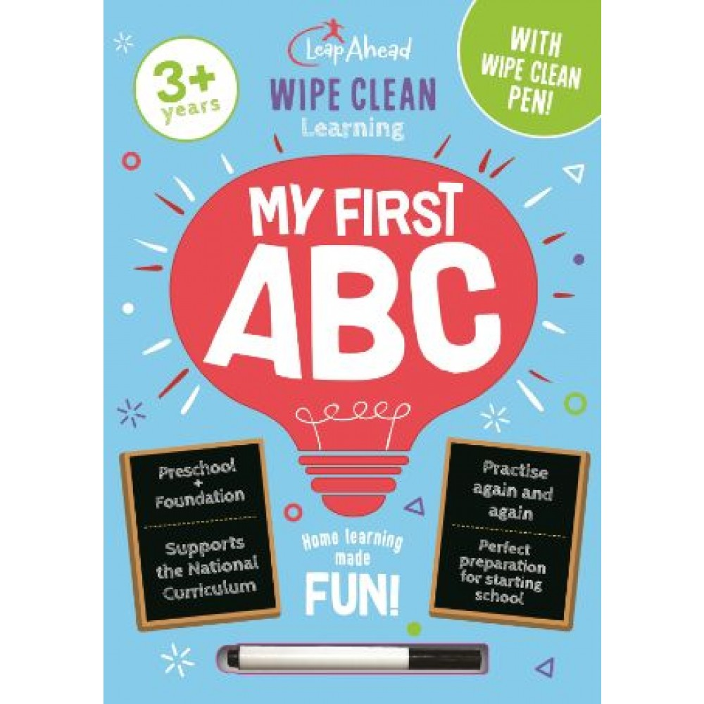 LEAP AHEAD WIPE CLEAN: MY FIRST ABC