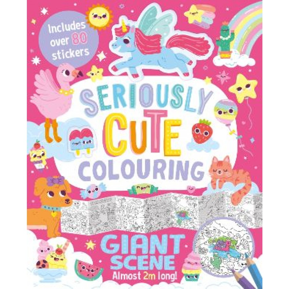FOLD OUT: SERIOUSLY CUTE COLOURING