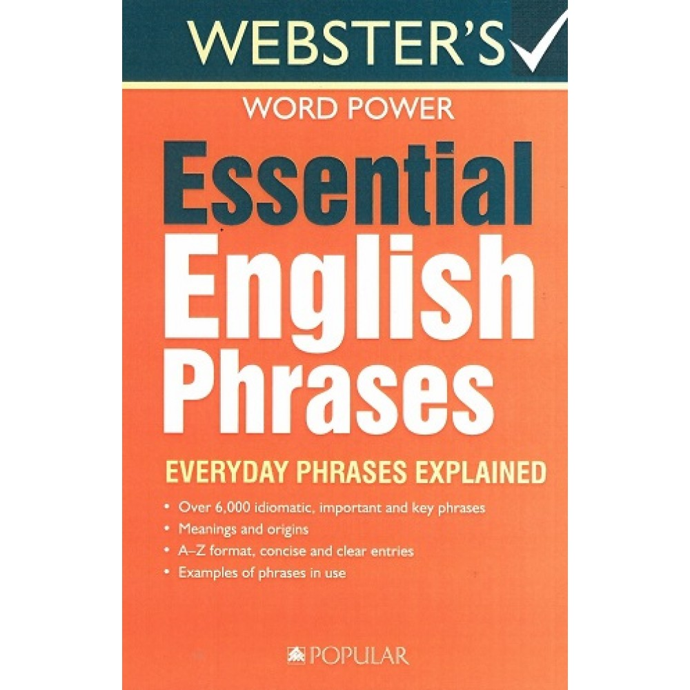 Webster's Essential English Phrases